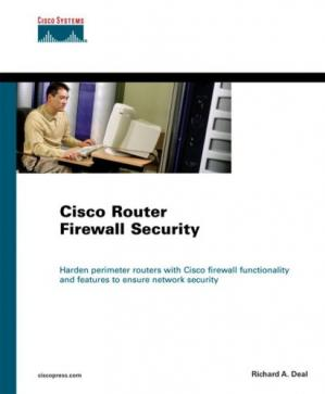 Buchdeckel Cisco router firewall security
