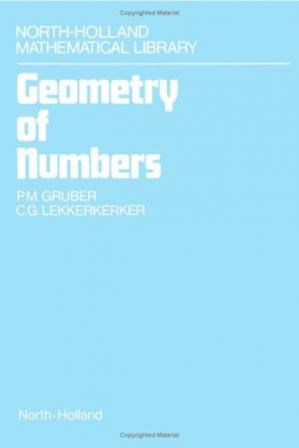 Book cover Geometry of numbers