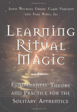 Copertina Learning Ritual Magic: Fundamental Theory and Practice for the Solitary Apprentice