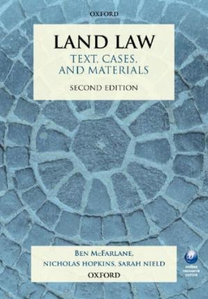 Portada del libro Land Law: Text, Cases, and Materials