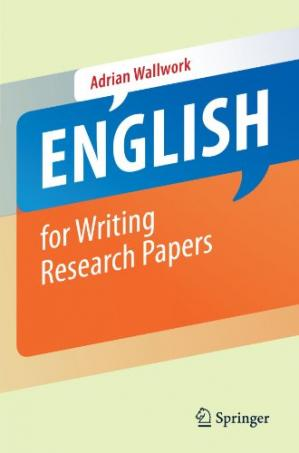 Book cover English for Writing Research Papers