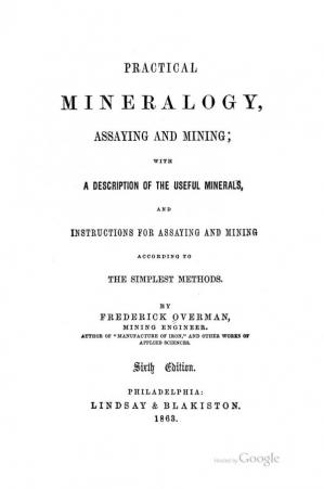 Book cover Practical Mineralogy, Assaying and Mining
