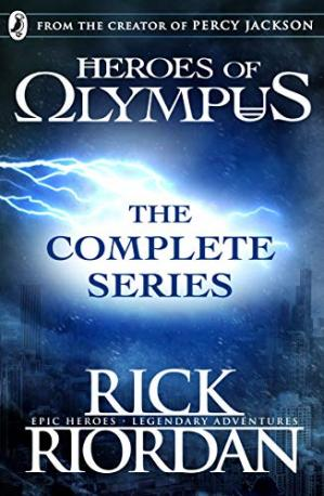 Book cover Heroes of Olympus: The Complete Series