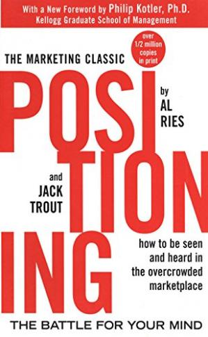 Book cover Positioning: The Battle for Your Mind