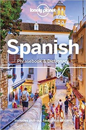 Book cover Spanish Phrasebook & Dictionary