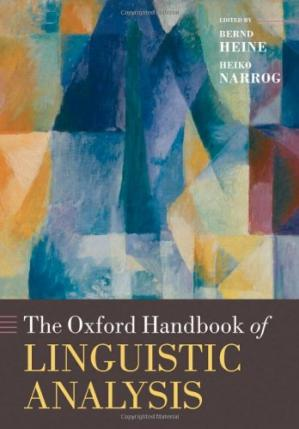 Portada del libro The Oxford Handbook of Linguistic Analysis