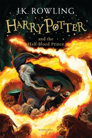 Book cover Harry Potter and the Half-Blood Prince (AUDIOBOOK 6)