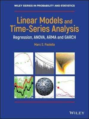 पुस्तक कवर Linear Models and Time-Series Analysis: Regression, ANOVA, ARMA and GARCH