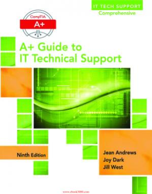 书籍封面 A+ Guide to IT Technical Support (Hardware and Software)