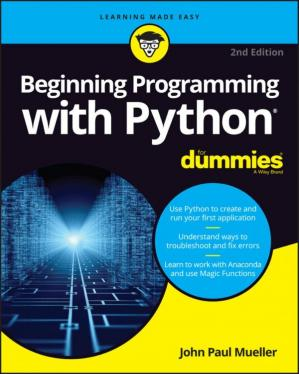 Kitap kapağı Beginning Programming with Python for Dummies