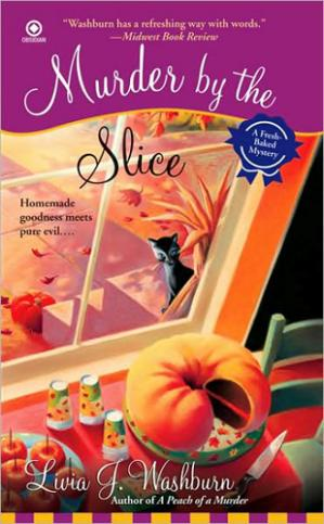 Book cover Murder by the Slice