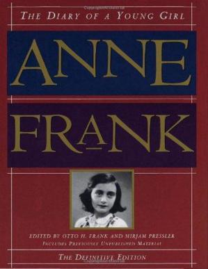 Book cover Anne Frank, The Diary of a Young Girl, The Definitive Edition
