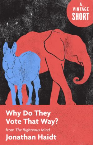 Book cover Why Do They Vote That Way? From The Righteous Mind