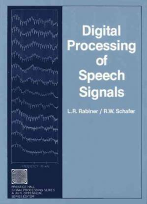 Portada del libro Digital Processing of Speech Signals (Prentice-Hall Series in Signal Processing)