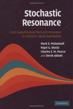 বইয়ের কভার Stochastic resonance