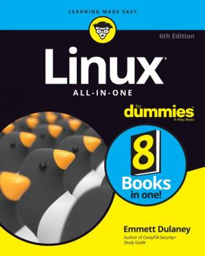 Book cover Linux All-In-One For Dummies, 6th Edition