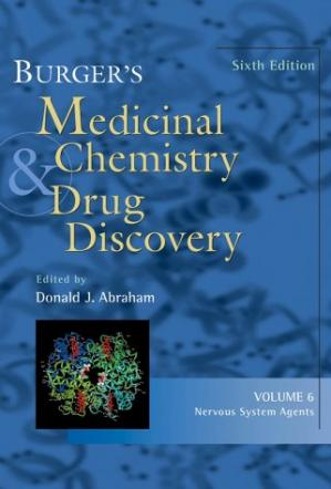 غلاف الكتاب Burger's Medicinal Chemistry and Drug Discovery, Nervous System Agents