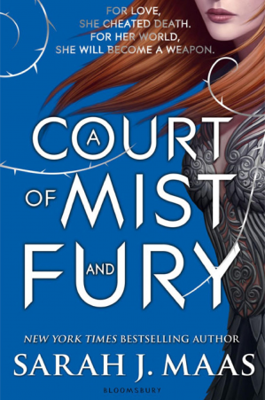 Sampul buku A Court of Mist and Fury