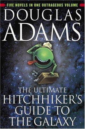 Book cover The Ultimate Hitchhiker's Guide to the Galaxy