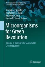 Copertina  Microorganisms for Green Revolution: Volume 1: Microbes for Sustainable Crop Production