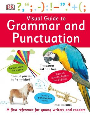 کتاب کی کور جلد Visual Guide to Grammar and Punctuation