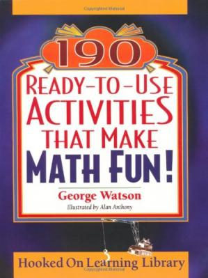 Book cover 190 ready-to-use activities that make math fun!