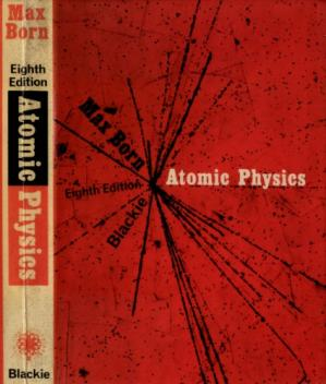 Book cover Atomic physics