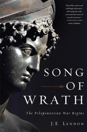 Book cover Song of Wrath: The Peloponnesian War Begins
