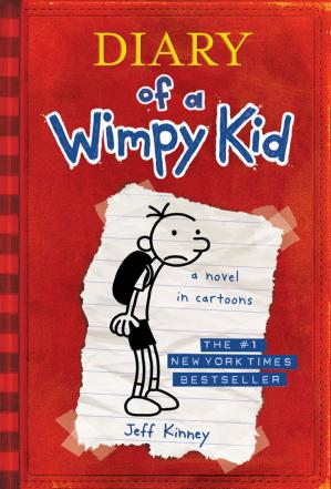 Book cover Diary of a Wimpy Kid (Diary of a Wimpy Kid, Book 1)