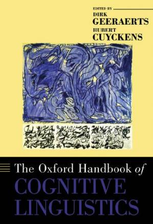 Portada del libro The Oxford Handbook of Cognitive Linguistics