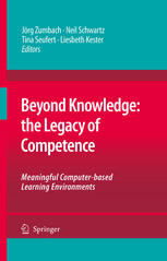 पुस्तक कवर Beyond Knowledge: The Legacy of Competence: Meaningful Computer-based Learning Environments