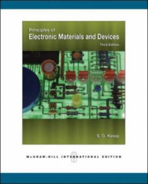 غلاف الكتاب Principles of electronic materials and devices, Volume 1