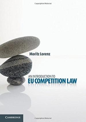 Portada del libro An Introduction to EU Competition Law