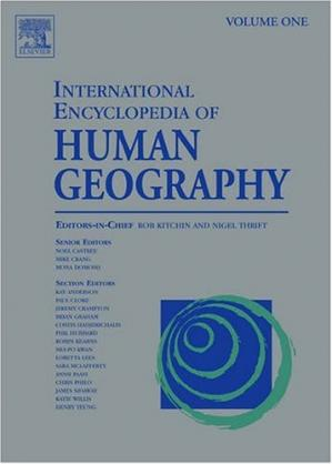 Book cover International Encyclopedia of Human Geography