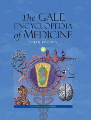 Book cover The Gale Encyclopedia of Medicine
