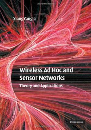 A capa do livro Wireless Ad Hoc and Sensor Networks: Theory and Applications