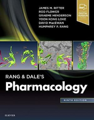 Book cover Rang & Dale's Pharmacology