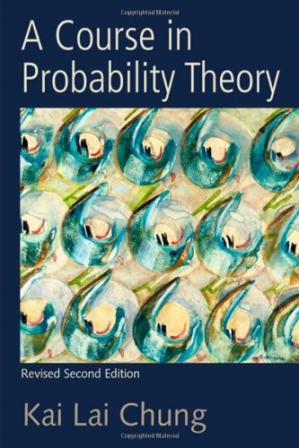 Обложка книги A course in probability theory