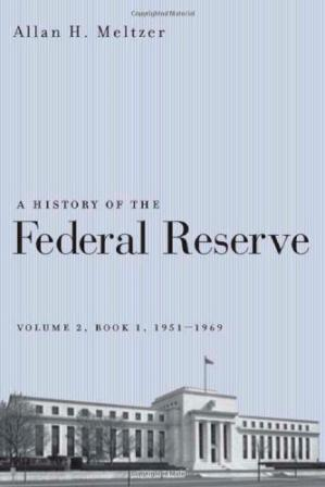 غلاف الكتاب A History of the Federal Reserve, Volume 2, Book 1, 1951-1969