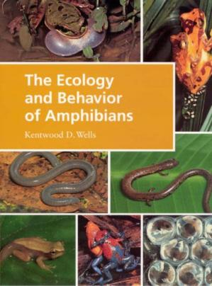 Book cover The Ecology and Behavior of Amphibians
