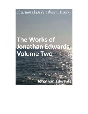 Copertina Works of Jonathan Edwards vol