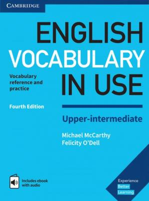 A capa do livro English Vocabulary in Use - Upper-Intermediate