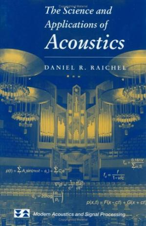 पुस्तक कवर The Science and Applications of Acoustics