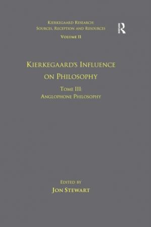 Portada del libro Kierkegaards Influence on Philosophy: Anglophone Philosophy.