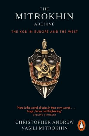पुस्तक कवर The Mitrokhin Archive - The KGB in Europe and the West