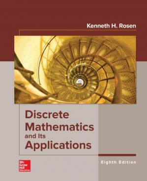 Book cover Discrete Mathematics and Its Applications
