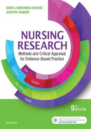 Book cover Nursing Research: Methods and Critical Appraisal for Evidence-Based Practice