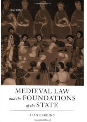 पुस्तक कवर Medieval Law and the Foundations of the State