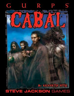Book cover GURPS Cabal