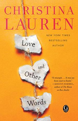 Book cover Love and Other Words